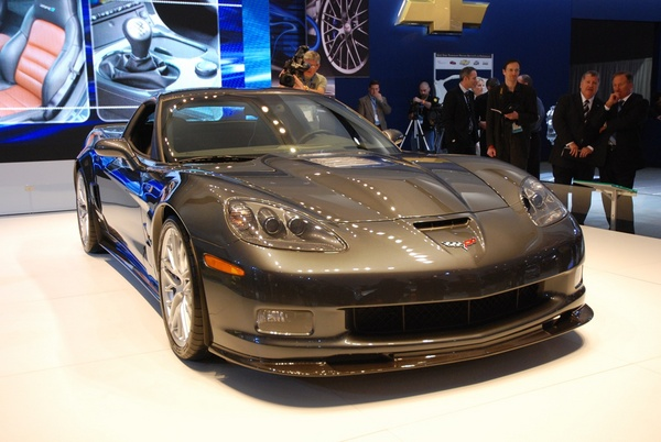 Corvette Zr1 2009. The first 2009 Corvette ZR1