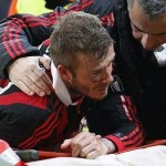 David Beckham Injury – Snapped Achilles Tendon